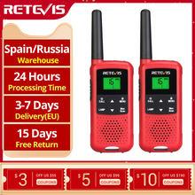 Рация Retevis RT649B RT49B 2 шт. PMR446 FRS уличные рации для охоты Micro USB зарядка VOX NOAA радио