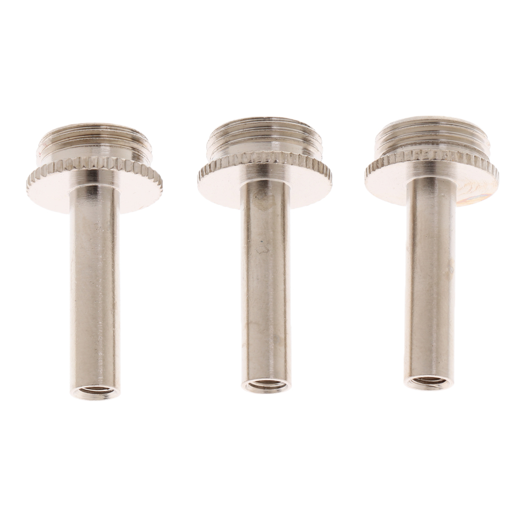 3 Pieces Nickel Electroplated Trumpet Connecting Rod Piston Repair Tool For Yamaha Trumpet Parts