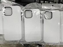 2 in 1 고무 tpu + PC 3d 승화 전화 케이스 아이폰 7 8 플러스 11 프로 XS 최대 XR/아이폰 12 빈 인쇄 케이스 10pcs