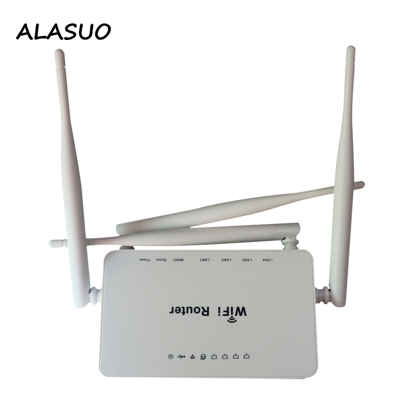 300Mbps VPN Wifi Router 5dBi Antennas Support omni II   openWRT for 4G USB Modem 802 11n b g Portable Wireless Home Router wi fi