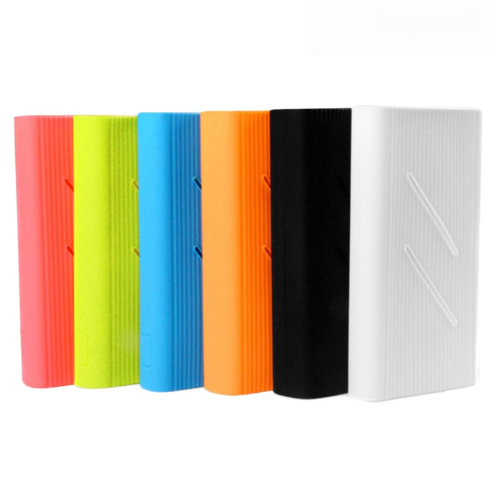 Silicone Protector <font><b>Case</b></font> Cover Skin Shell <font><b>for</b></font> <font><b>Xiaomi</b></font> Xiao Mi Xiomi <font><b>20000mAh</b></font> <font><b>Power</b></font> <font><b>Bank</b></font> 2C Powerbank Accessories image
