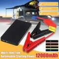 12V 12000mah araba atlama marş taşınabilir araba marş güç bankası oto motor acil durum batarya şarj cihazı güç bankası Booster pil