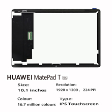 Lcd-Display for HUAWEI Matepad-T 10S T10s/Ags3-w09/Ags3-l09/Lcd-display with Touch-Screen