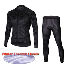 Winter Pro Cycling Jersey Set Thermal Fleece Bicycle Wear Mountain Bike Cycling Clothing for Men Ropa Ciclismo Bike Wear men winter thermal fleece cycling clothing set bike clothing bicycle ropa ciclismo wear cycling kit long sleeve cycling sets
