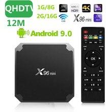 12M Leadcool QHDTV X96mini TV BOX For france Smart TV BOX