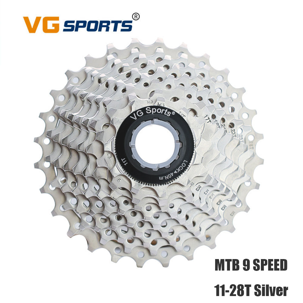9 Speed 11T-28T  Road Bike Freewheels MTB Cycling Cassette Bicycle  Flywheel