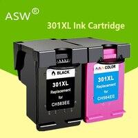 301 xl cartucho compatível para hp 301 xl hp301 cartucho de tinta para hp envy 5530 deskjet 2050 2540 2510 1000 1050 impressora
