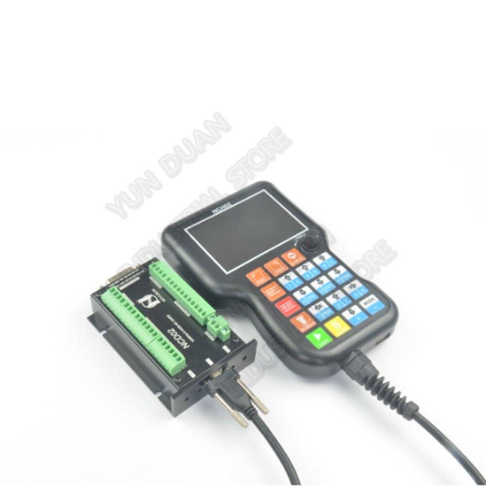 3 4 5 achse Handheld Offline CNC Motion Controller G Code USB Griff Fern Taste MPG Für Stepper Servo Motor CNC Gravur
