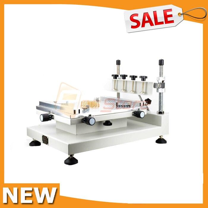 Высокоточный Ручной Форма трафаретной печати принтера 3040 паяльная паста печатной SMT, принтер машина