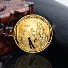 Памятная монета Золотая коллекция художественная Коллекционная монета эмуляция игра валютное украшение монета для украшения Прямая