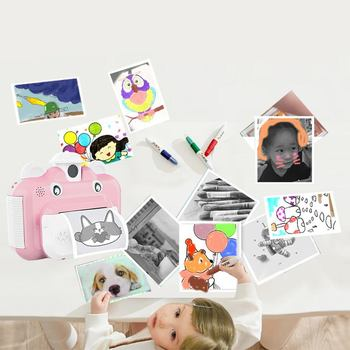 Cute Instant Print Camera for Kids Special Offer EDUCATIONAL TOYS TOYS & DOLL TOYS & HOBBIES