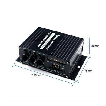 400W bluetooth HiFi Power Amplifier  4