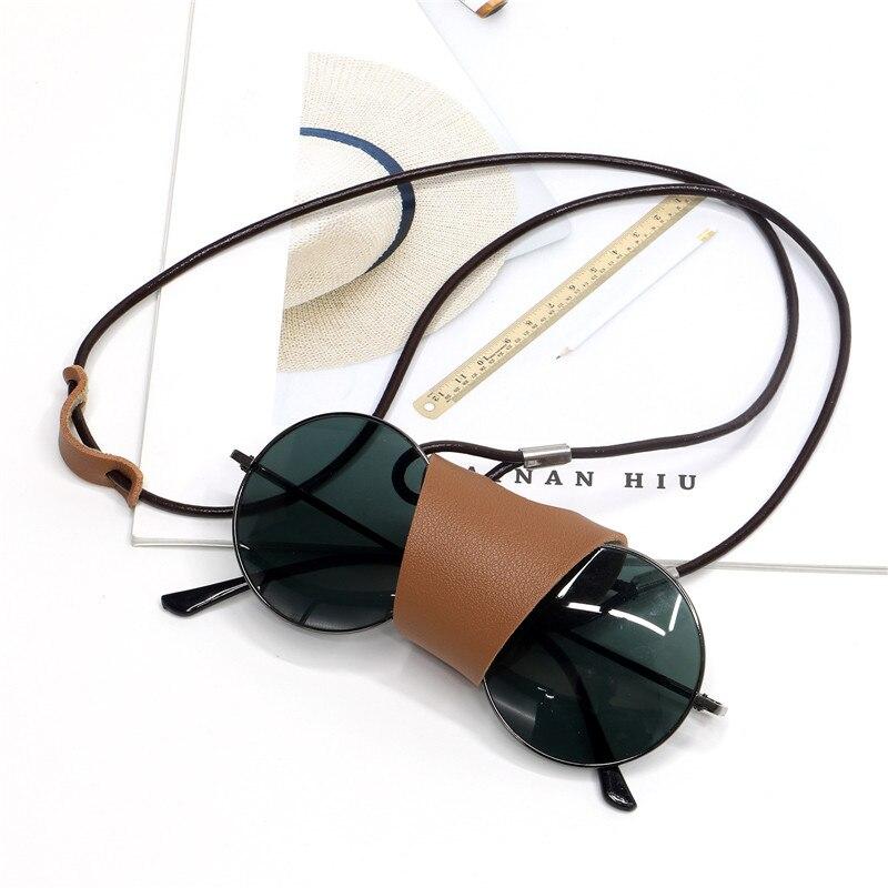 Handmade Leather Hanging Glasses Lanyard