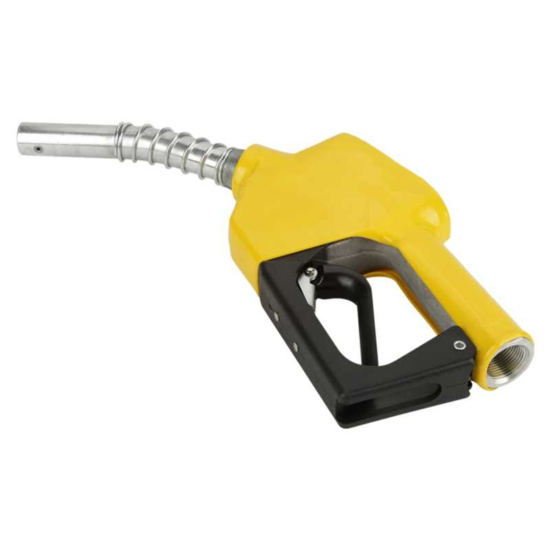 Buse de remplissage de carburant de voiture-le pistolet coupe automatiquement le pistolet à carburant Diesel