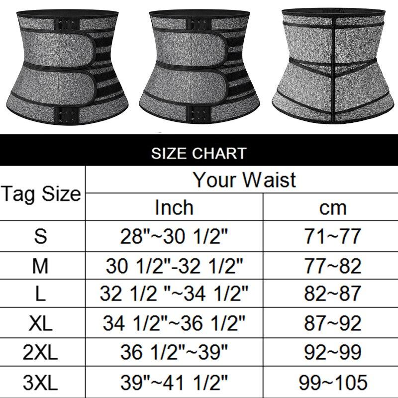 Faja Shapewear Neoprene Sauna vita allenatore corsetto cintura sudore per le donne perdita di peso compressione Trimmer allenamento Fitness 2