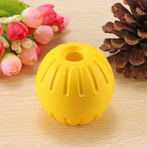 Portable EVA Sphere Hollow Ball Bite-Resistant Dog Training Toys Ball With Carrier Rope Bite Resistant Magic Ball Pet Supplies(China)