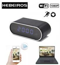 Hebeiros HD 2MP بطارية ساعة الكاميرا كاميرا IP صغيرة واي فاي 1080P P2P كاميرا للرؤية الليلية إنذار الحركة عن بعد كاميرا تلفزيونات الدوائر المغلقة