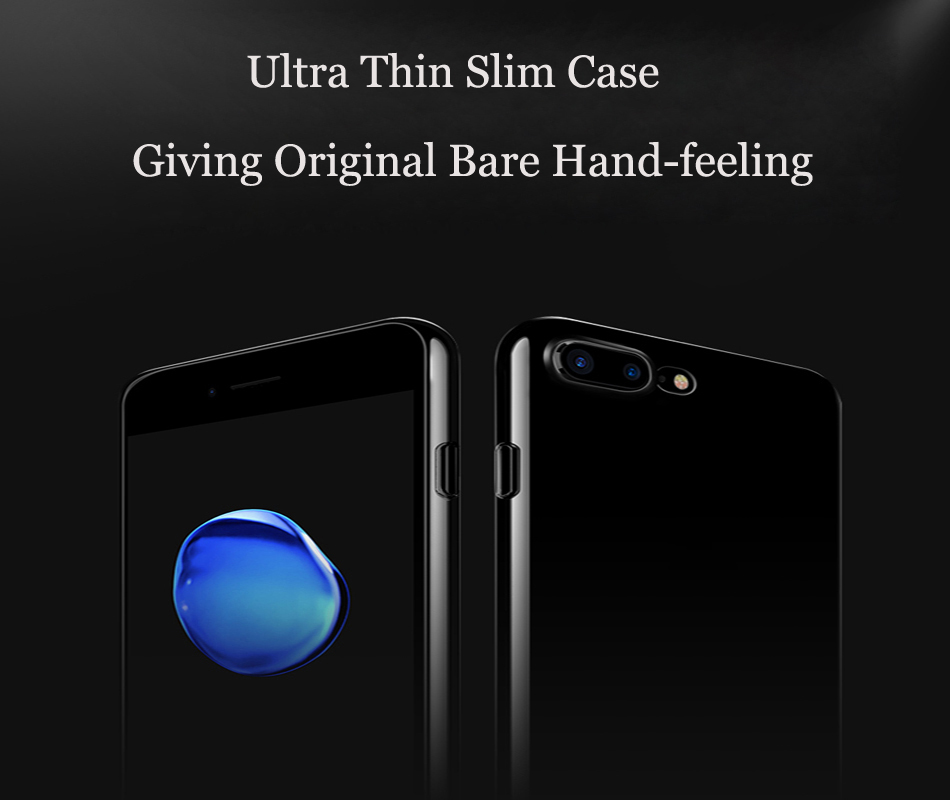 Ultra Thin Slim Soft TPU Silicone Cover Case For iPhone X, XS, 8, 7, 6S Plus, XR, 11