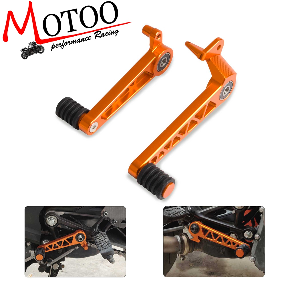 CNC Aluminum Motorcycle Foot Brake Lever & Gear Shifting Lever Foot Pedal For KTM Duke 250 390  2017 2018 2019