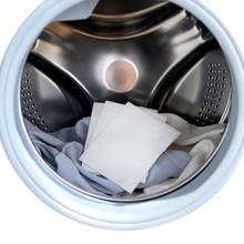 24 шт стиральной машины использовать смешанные окрашивания доказательство Цвет поглощения лист анти окрашенная ткань Прачечная Бумаги защита от линьки Grabber ткань