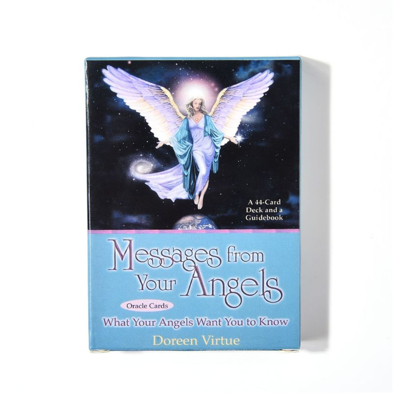 2020 New 44pcs Oracle Cards Messages From Your Angels: What Your Angels Want You To Know