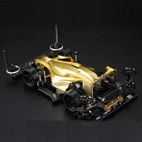 DIY Assemble Four Drive 95267 AR Chassis Golden Electroplating Avatar Model Kit