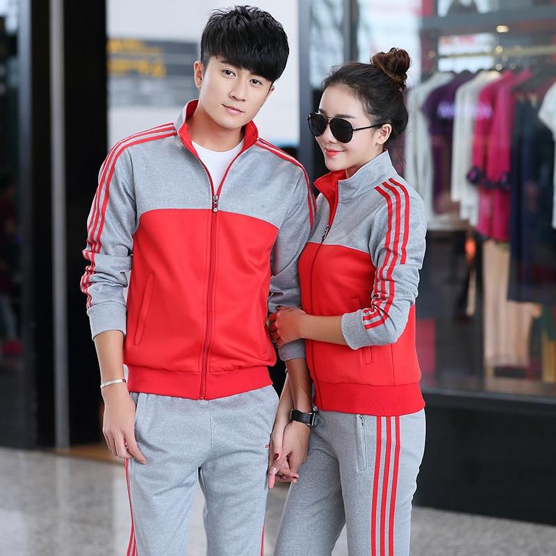 Autumn & Winter Men And Women Sports Clothing Set Junior High School Business Attire School Uniform Business Attire Set Games Un