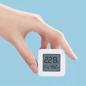 Image 4 - [Versão mais recente] termômetro xiaomi mijia de bluetooth, termômetro elétrico sem fio inteligente e digital com higrômetro, funciona com o aplicativo mijia