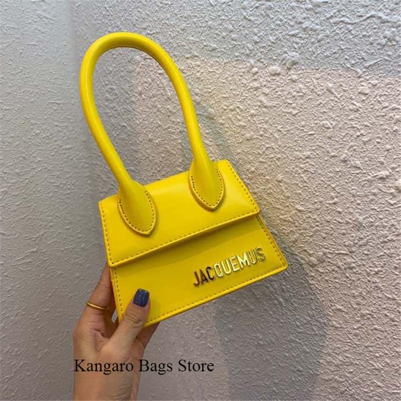 2020 New Fashion Purse Hand Bag Crossbody Bags For Women 2019 Quality Small Tote Bag Luxury Designer Ladies Mini Handbag Yellow