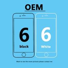 лучшая цена OEM 4.7 inch for iPhone 6 6G LCD display screen + Original flex cable + Free shipping For iphone 6 original display