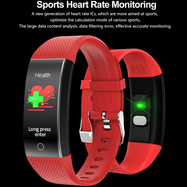 Smart Watch Body Temperature Smartwatch Ip68 Waterproof Heart Rate Fitness Tracker Smart Watches Men Women For Android IOS 2020 5