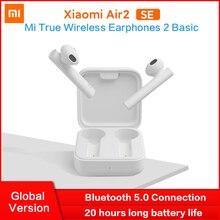 Xiaomi Fone de ouvido TWS sem fio Bluetooth 5 Air2 SE Mi True, versão global, básico, 20h, longa espera, controle sensível ao toque