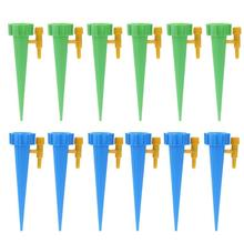 New 12pcs Drip Irrigation System Automatic Watering Spike for Plants Garden Greenhouse