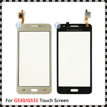 20Pcs/lot For Samsung Galaxy Grand Prime Duos G530 G530H G530F G5308 G531 G531H G531F Touch Screen Digitizer Sensor Glass Panel