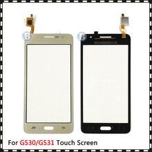 Panel de cristal con Sensor digitalizador de pantalla táctil, para Samsung Galaxy Grand Prime Duos G530 G530H G530F G5308 G531 G531H G531F, 20 unidades/lote