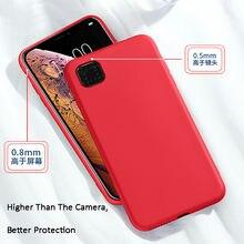 For Xiaomi Redmi 9C Case Liquid Rubber Silicone Armor Case For Redmi 9C Case Cover For Xiaomi Redmi 9A Redmi 9A Redmi 9 Note 9S