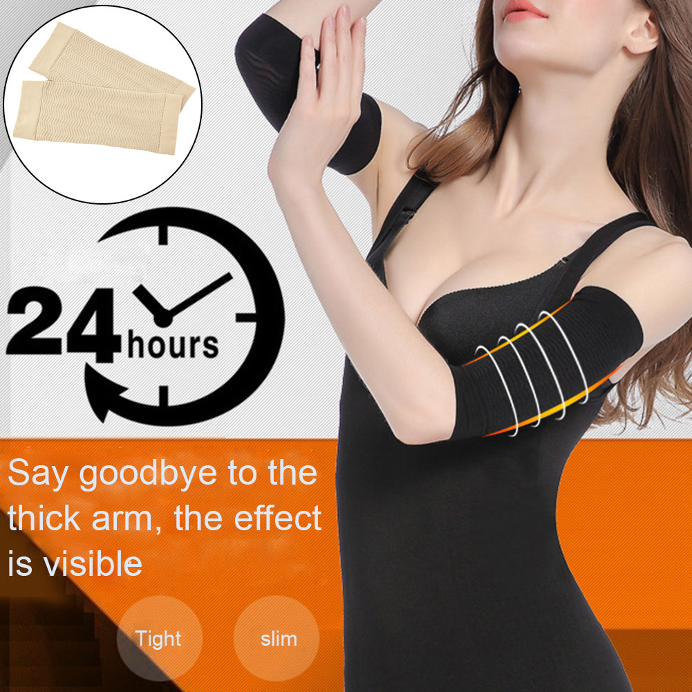 Compression Breathable Slim Arms Sleeve Shaping Arm Shaper Upper Arm Supports Gym Sports Women New Arrival   J55