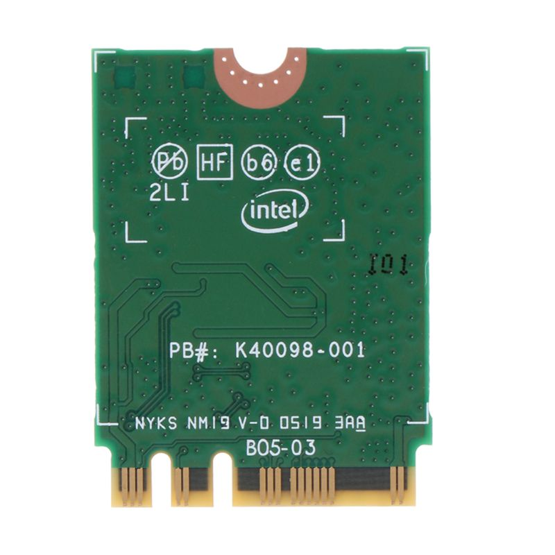 Intel Wi-Fi 6 AX200 <font><b>802.11ax</b></font> Dual Band MU-MIMO WiFi WLAN Network Card Bluetooth 5.0 Wireless Card image
