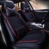 Car Seat Cover Auto Seats Covers for nissan almera n16 g15 classic altima JUKE kicks LEAF murano z51 navara d40 note pathfinder