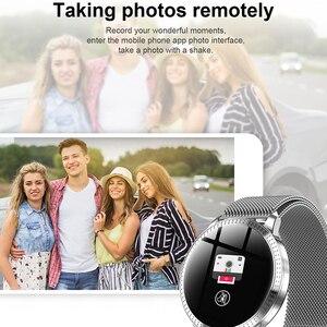 Image 5 - Chống Thấm Nước Đồng Hồ Thông Minh Smart Watch Nữ Đáng Yêu Vòng Đeo Tay Đo Nhịp Tim Theo Dõi Giấc Ngủ Đồng Hồ Thông Minh Smartwatch Kết Nối IOS Android Dây Đeo Tay