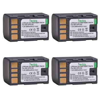 4pcs BN-VF815 BN-VF815U BNVF815 Battery for JVC GR-D720US GR-D728 GR-D750US GR-D771 GR-D720 GR-D740US Everio GZ-MG130 Battery фото