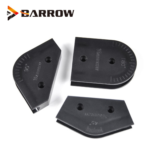 Barrow OD12mm 14mm 16mm Acrylic PETG Hard Tube Pipe Bending Model 45 90 180 Degree Bender Computer Split Water Cooling ABS Tools