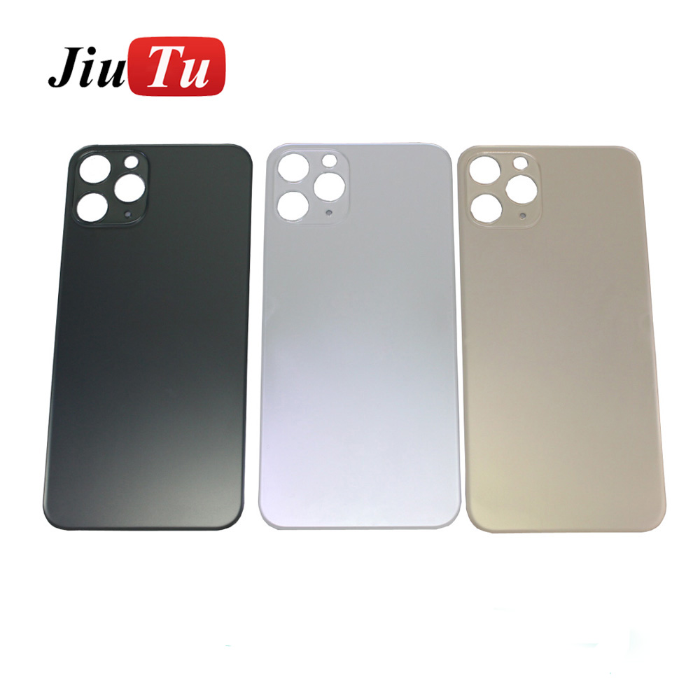 Back Cover Glass Rear Housing For iPhone X 8 Plus XS XSMAX Rear Door Body Assemble Housing with big hole (11)