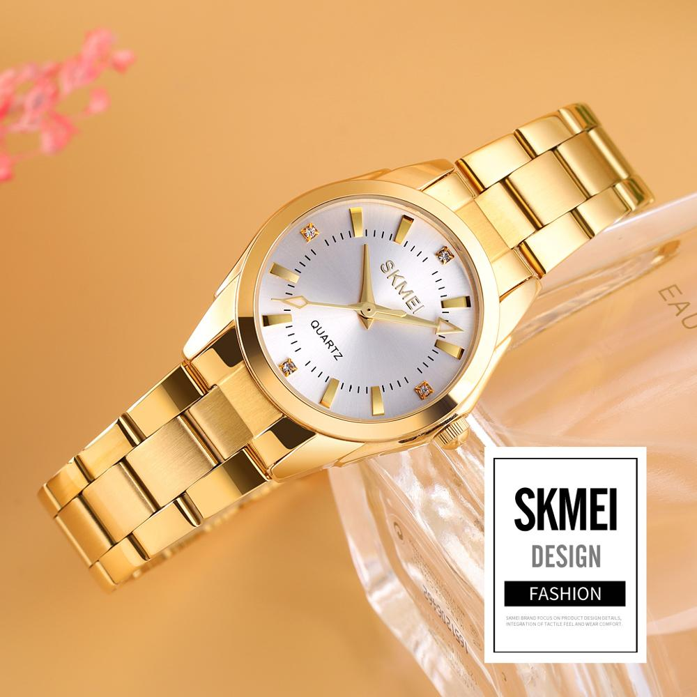 2020 SKMEI Casual Women Romantic Quartz Watches Luxury Female Girl Clock Waterproof Ladies Wristwatches Relogio Feminino 1620 4