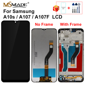 Original For Samsung Galaxy A10S A107/DS A107F A107FD A107M LCD Display Touch Screen Digitizer Replacement Parts For A10s LCD