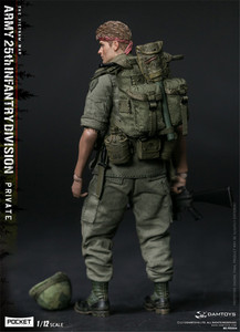 Image 4 - Damtoys Dam 1/12 PES004 Ons Leger Soldaat In Vietnam 25th Infantry Division Private Military Action Figure Collection