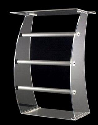 Acrylic Desktop Lectern / Acrylic Church Lectern Stand Church Pulpit Plexiglass