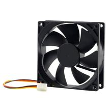 1pc 12V 3-Pin 9cm 90 x 25mm 90mm CPU Heat Sinks Cooler Fan DC Cooling Fan 65 CFM High Quality Fast Free(China)
