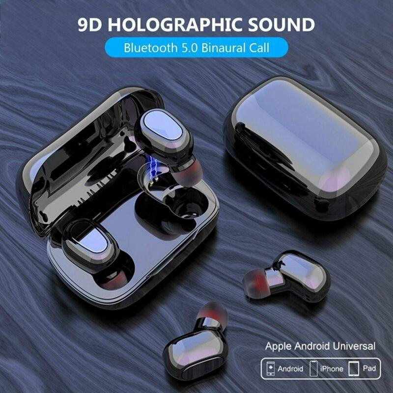 2020 Bluetooth 5 0 Headset Tws Wireless Earphones Mini Stereo Headphones Earbuds Bluetooth Earphones Headphones Aliexpress
