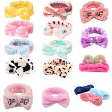 OMG – bandeau en molleton doux pour femmes et filles, bandeau élastique croisé, lavage du visage, Turban, accessoires pour cheveux